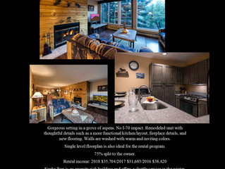 Just Listed in Vail Colorado!