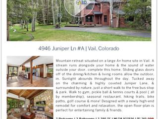 Open House at 4946 Juniper Lane #A Vail, Colorado