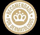 Sello de Reomenad por dermatólogos