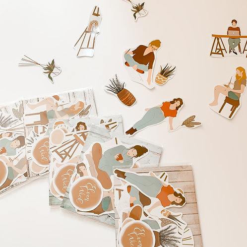 Happy Living Sticker Pack