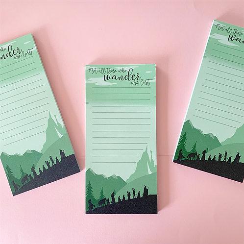 Wander Notepads