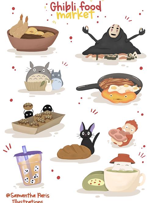 Ghibli Food Market