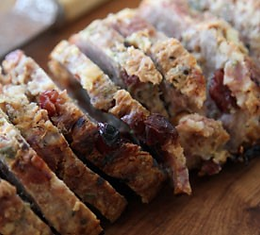 Bacon, Herb and Hazelnut Stuffing