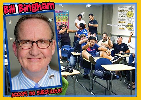Bill Bingham teacher