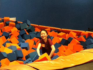 Flying High at SkyZone!