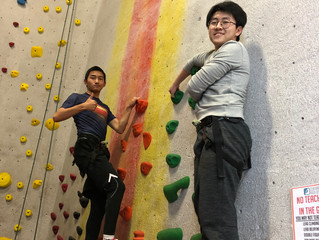 Rock Climbing and Conquering Fears