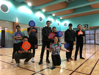 Clubs on Campus: Ultimate Frisbee and English Conversation Club