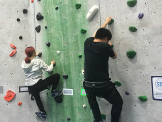 Students Reach New Heights on Rock Climbing Field Trip!