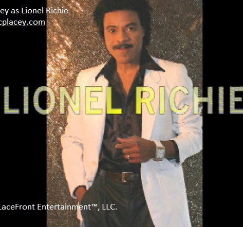 CP Lacey as Lionel Richie