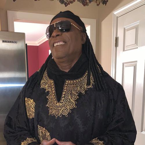 CP Lacey as Stevie Wonder