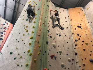 Conquering Fears at Rock Climbing!