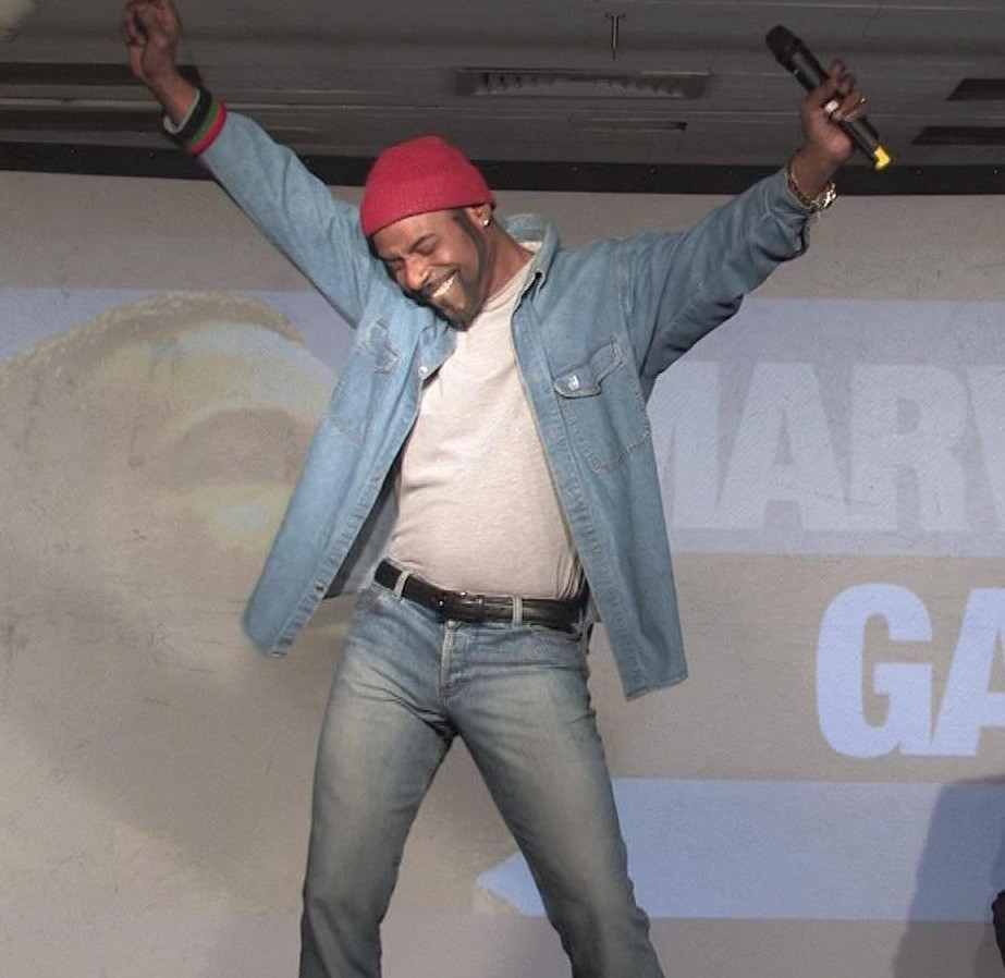 CP Lacey as Marvin Gaye