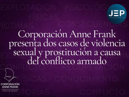 Caso de violencia sexual en el marco del conflicto armado y explotación sexual a consecuencia de est