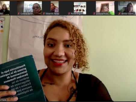 """""""Debemos abordar el daño emocional de las víctimas de la trata de personas"""" Claudia Quintero"""