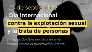 Conmemoración del Día Internacional Contra la Explotación Sexual y la Trata de Personas