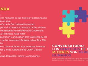 Conversatorio: Los derechos de las mujeres son derechos humanos