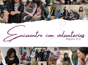 Voluntarias de la Corporación Anne Frank luchan juntas en Bogotá