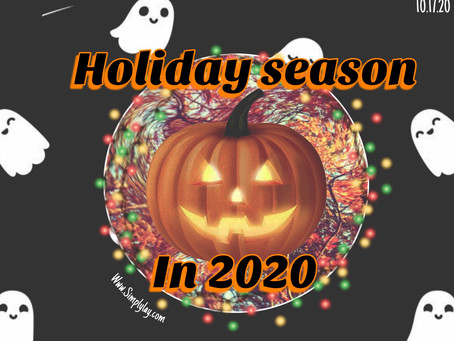 Holiday season in 2020