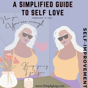 A Simplified Guide to Self Love