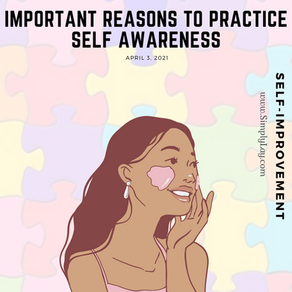 Important reasons to practice self awareness