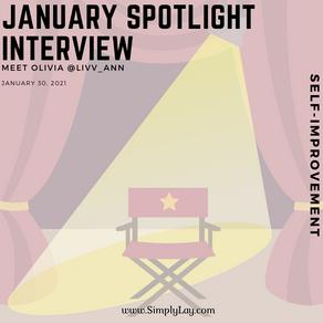 Spotlight interview: Meet @Livv_ann