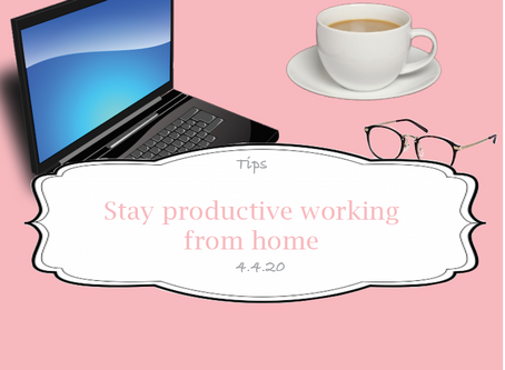 Stay productive while working from home