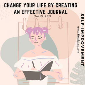 Change your life by creating an effective journal