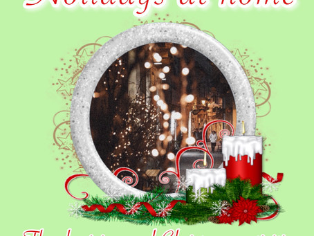 Holidays at home: Thanksgiving and Christmas activities