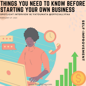 Things you need to know before starting your own business
