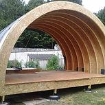 Coccibois, arches posées