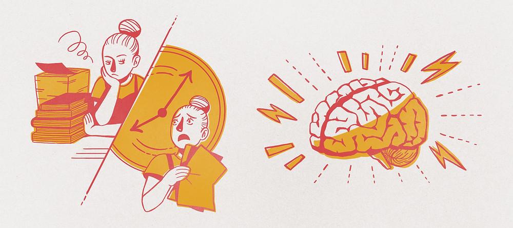 procrastination : comment arrêter de procrastiner, ne plus remettre tout à demain, épanouissement, volonté, détermination, concentration, temps pour faire les choses, astuces d'organisation, être mieux organiser au quotidien, au travail, avec des enfants thérapie, blog, article, 10 étapes pour arrêter de procrastiner, habitudes, mauvaises habitudes, productivité, rangement, avoir peur de prendre rendez-vous, phobie