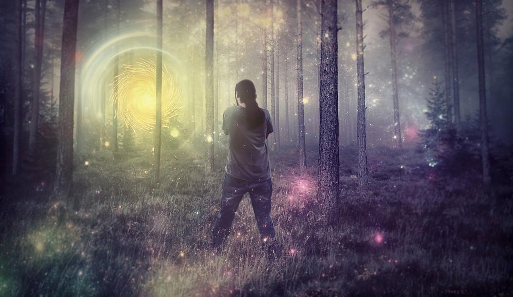 imaginer et voir des choses positives pour attirer le positif à nous plonger dans un état de conscience modifiée s'évader et rêver au bonheur développement personnel épanouissement harmonie équilibre transformation évolution changement de vie mieux vivre heureux positivité psychologie positive mindset good vibes