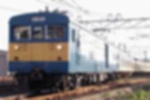 2006.10.6 クモヤサンドで出場する広103系。s.jpg