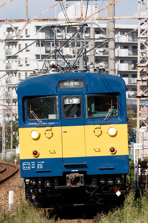 クモヤ145-1000番台(クモヤ145-1003)