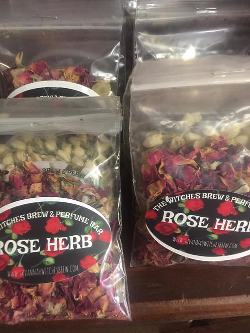 Rose, Jasmine, & Patchouli Herbs