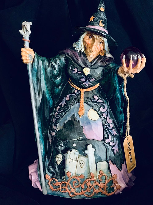 Jim Shores Crystal Ball Witch
