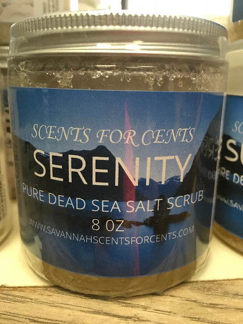 SERENITY SALT SCRUB