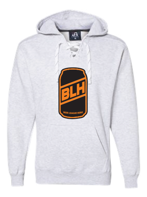 Beer League Hero - Hoodie Light Grey