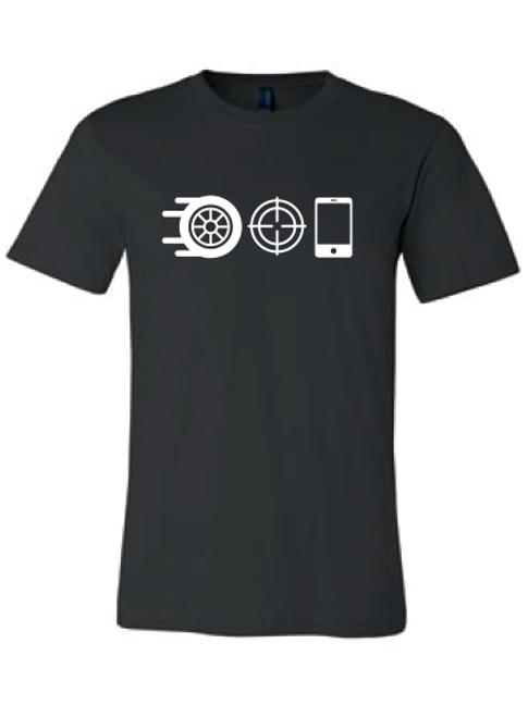 Wheel, Snipe, Celly T-Shirt
