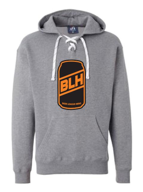 Beer League Hero - Hoodie Dark Grey
