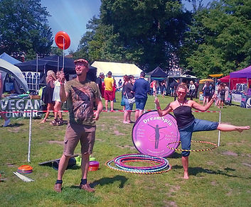 Circus Workshops Bright DreamSpin Hoop Dance Hula Hooping Brighton Circus Plate Spinning at The Level in Brighton BN2