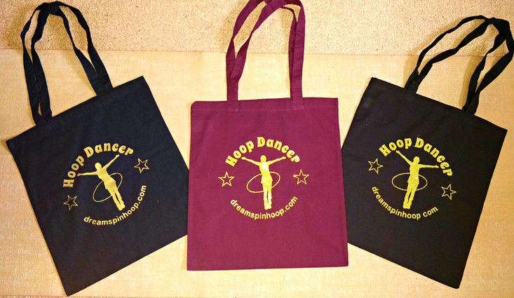 DreamSpin Hoop Dancer Tote Bags.jpg