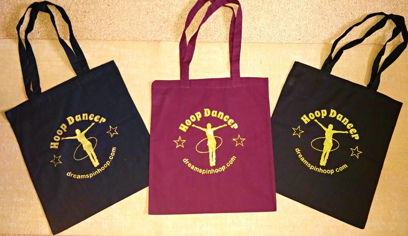 DreamSpin Hoop Dancer Tote Bags.jpg