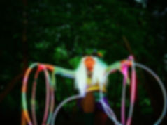 Enchanted Fairy Festival Hula Hooper Led Hula Hoops Winged Fairy Woodland