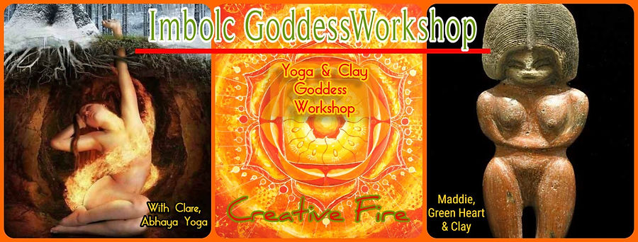Goddess Imbolc Workshop Yoga & Clay Work