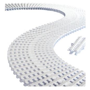 Modulo griglia trasversale per curve