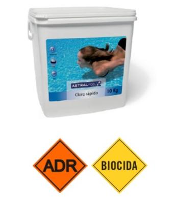 Pastiglie di cloro rapido da 20 g
