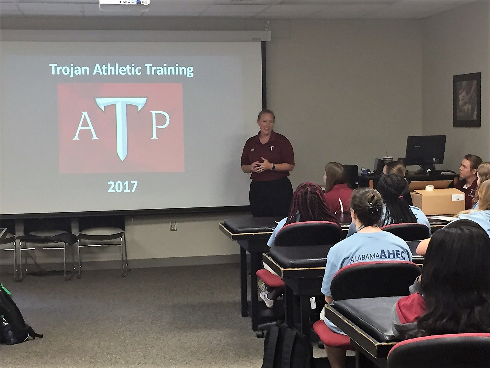Troy Athletic Training