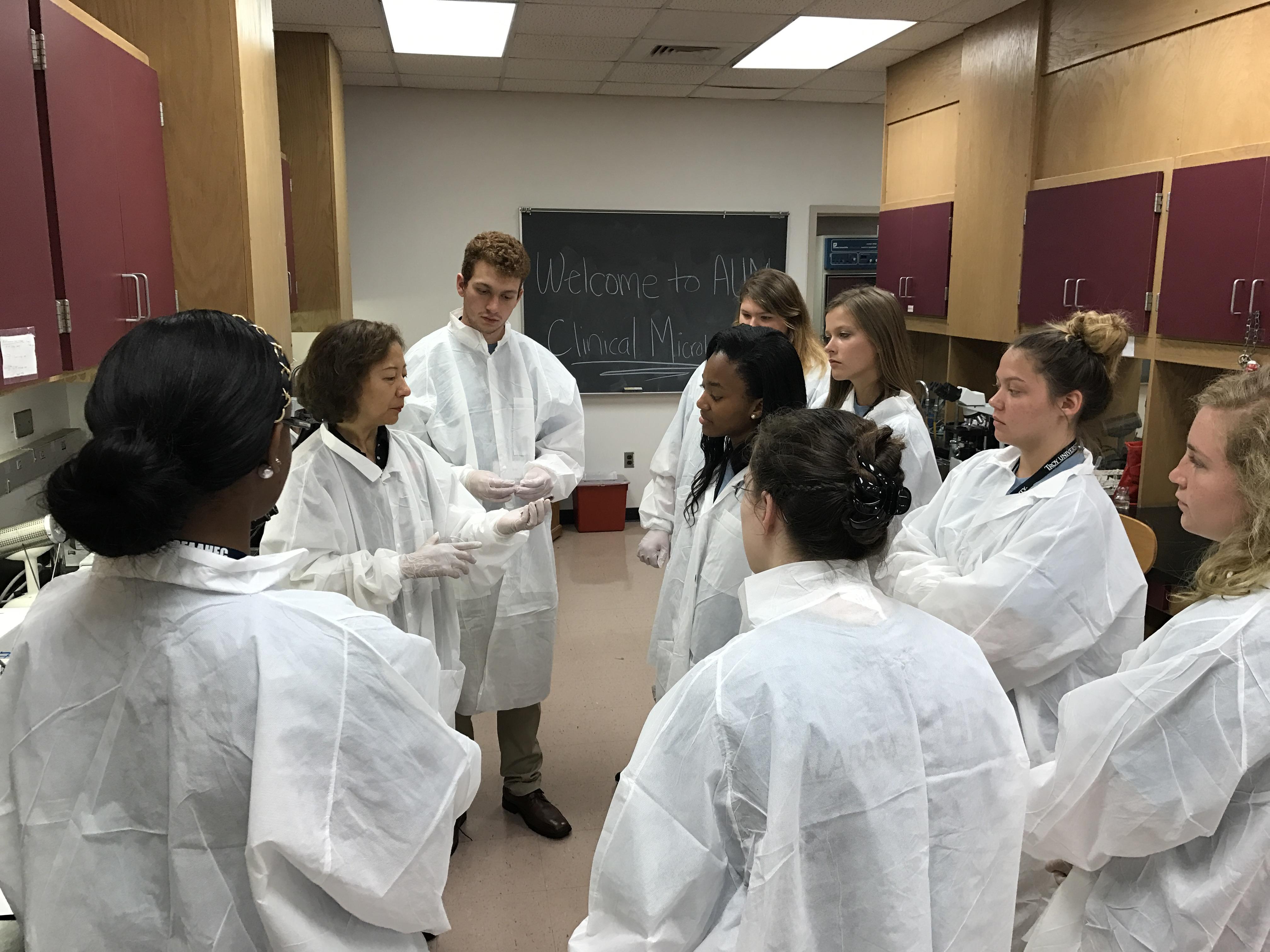 AUM's Micro lab