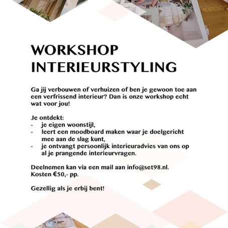 Workshop Interieurstyling